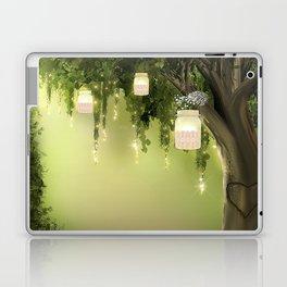 Enchanted Forest Heart Tree Laptop & iPad Skin