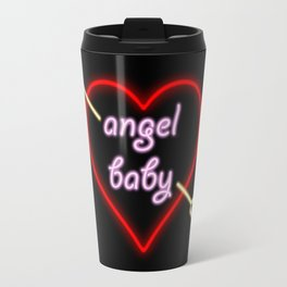 Angel Baby Neon Travel Mug