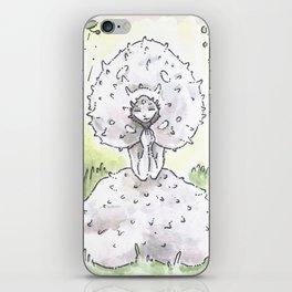 Empire of Mushrooms: Lycoperdon perlatum iPhone Skin