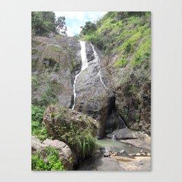 Waterfall - Barranquitas, Puerto Rico Canvas Print