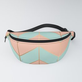 Marble Geometry 059 Fanny Pack