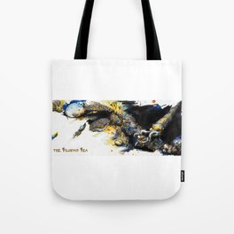 The Silurian Sea Tote Bag