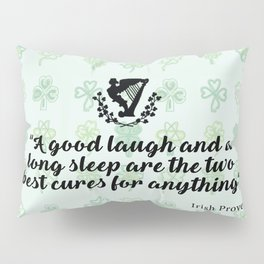 irish proverb Pillow Sham