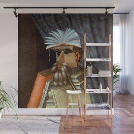 """Giuseppe Arcimboldo """"The librarian"""" Wall Mural"""