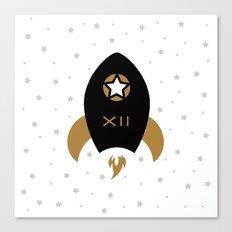 Spaceship #12 Canvas Print