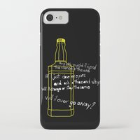 jack daniels iPhone & iPod Cases featuring Jack Daniels by Jaune Citrine