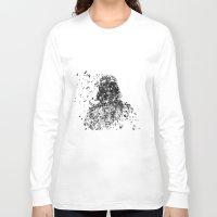 darth vader Long Sleeve T-shirts featuring Darth Vader by malobi