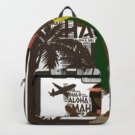 Hawaiian Girl Backpack
