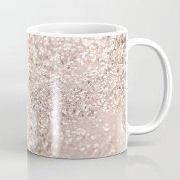 Blush Glitter Dream #4 #shiny #decor #art #society6 Coffee Mug