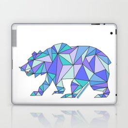 Geometric Cali Bear Laptop & iPad Skin