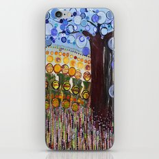 :: Indiana Blue Willow :: iPhone & iPod Skin