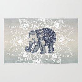Elephant  Mandala Rug