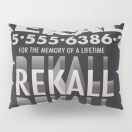 Rekall ( Total Recall ) Vintage magazine commercial. Pillow Sham