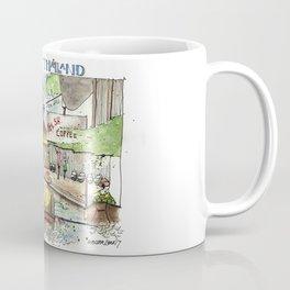 Thailand:  Floating Market Coffee Mug