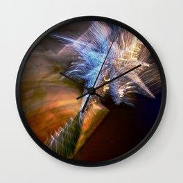 Abstract Star Of Wonder Wall Clock