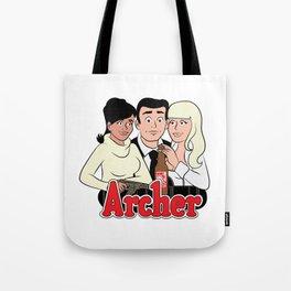 Archer Comics Tote Bag