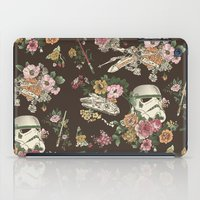 phone iPad Cases featuring Botanic Wars by Josh Ln