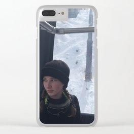 Gondola Ride Up Keystone Clear iPhone Case