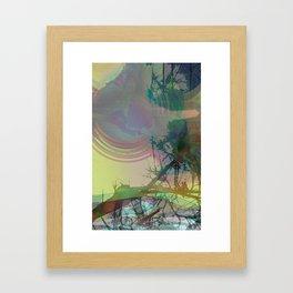 So Much Daze, So Little Sun Framed Art Print