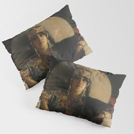 The Empress Theodora, Jean-Joseph Benjamin-Constant Pillow Sham