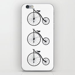 Vintage Bicycle  iPhone Skin