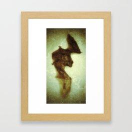 little bat Framed Art Print