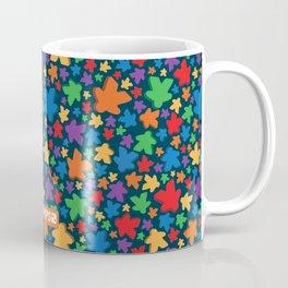 Funky Meeple Pattern Coffee Mug