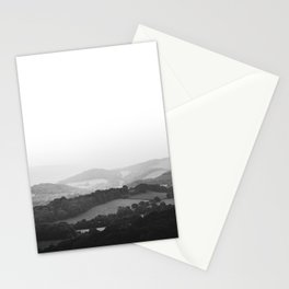 Hill Mist - Black and White Collection Stationery Cards