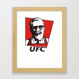 The Notorious Conor Mcgregor T-shirt Funny UFC KFC Framed Art Print