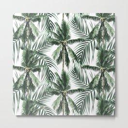 South Pacific palms Metal Print