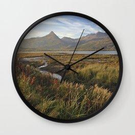 Kodiak Fall Wall Clock