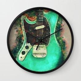 Kurt Cobain's electric guitar Wall Clock