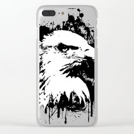The Majestic American Bald Eagle Clear iPhone Case