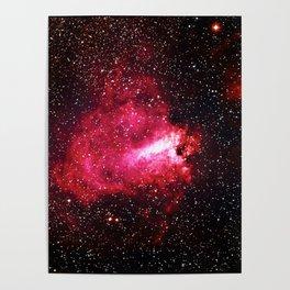 The Omega Nebula Poster