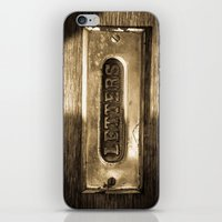 letters iPhone & iPod Skins featuring Letters by BD Photo