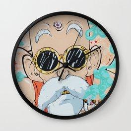 Zen Turtle Hermit Wall Clock