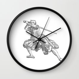 Zornhut Wrath Guard Wall Clock