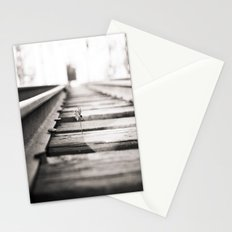 railroad flower  Stationery Cards