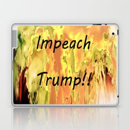 Impeach Trump! Laptop & iPad Skin