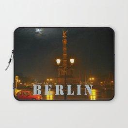 MOON-LIGHT BERLIN - Siegessaeule - Tiergarten  Laptop Sleeve