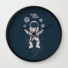 The Juggler Wall Clock