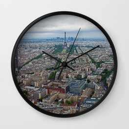 Eiffel Tower / Tour Eiffel - Paris, France Wall Clock