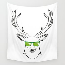 cool deer Wall Tapestry