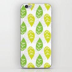 Turn Over A New Leaf iPhone & iPod Skin