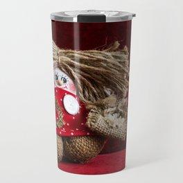 Russian gnome. Travel Mug