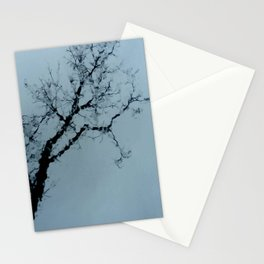 Tree, sky and water. Stationery Cards