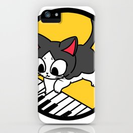 Piano Piano Gift Instrument Music Song Sound iPhone Case