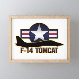 F-14 Tomcat Framed Mini Art Print