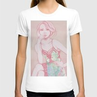 water colour T-shirts featuring Water Colour Girl 2 by DeeDee Design