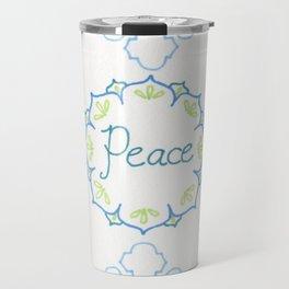 Peace to all Travel Mug